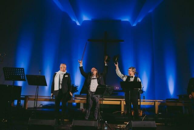 Gospel Gentlemen -kiertue liikkeelle!