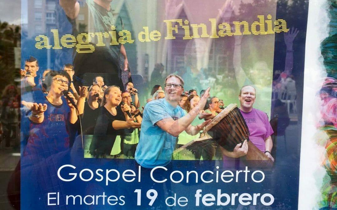 Espanjan kiertueella!